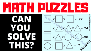 Can you solve this algebra brain teaser?