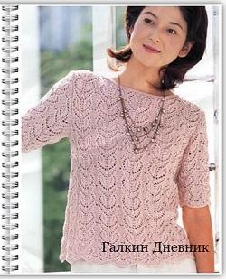 ajurnii-uzor-spicami | knitting-patterns | vіzerunki-spicyami | ўzori-spіcamі