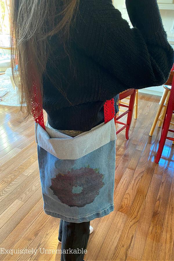 Easy DIY Denim Tote Bag