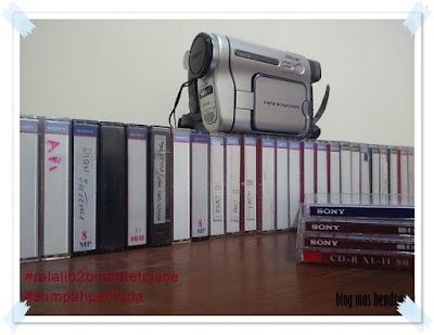 Kaset Handycam Untuk Proyek - Blog Mas Hendra