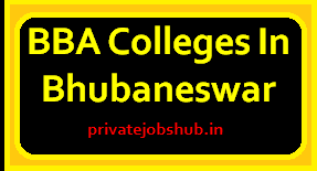 BBA Colleges In Bhubaneswar