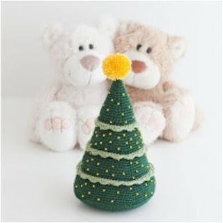 patron amigurumi Árbol de Navidad mis pequicosas