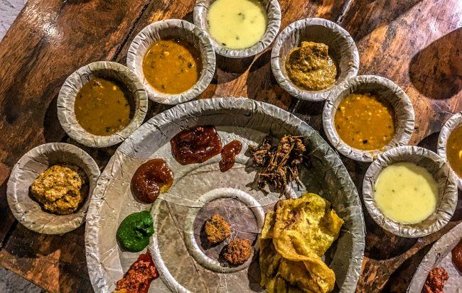 Royal Thali at Traditional Khana