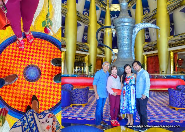 inside Burj Al Arab Hotel