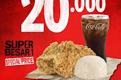 Promo Super Besar Mantap Dari KFC Periode 27 - 31 Januari 2020