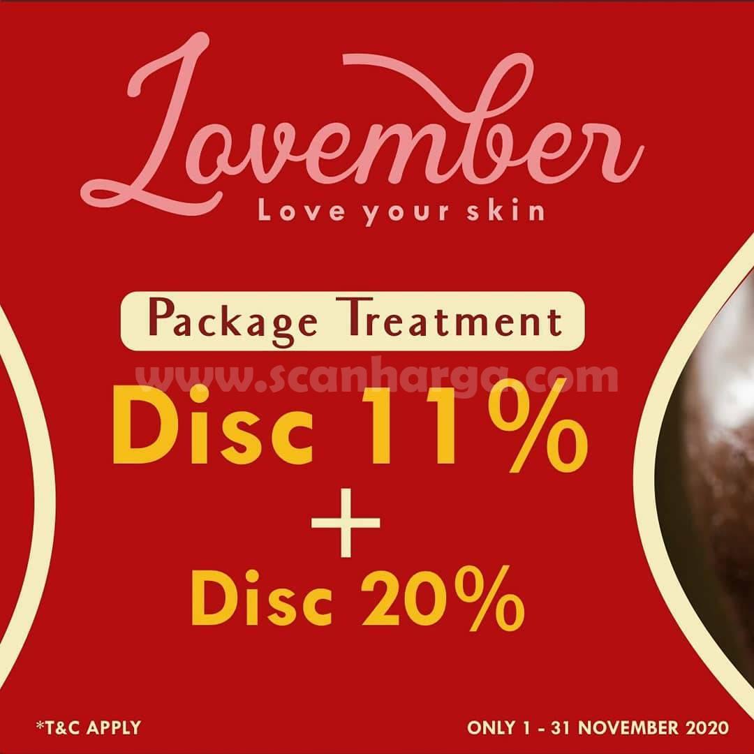 Promo Corry Beauty Terbaru: Paket Treatment Disc 11% + Disc 20%