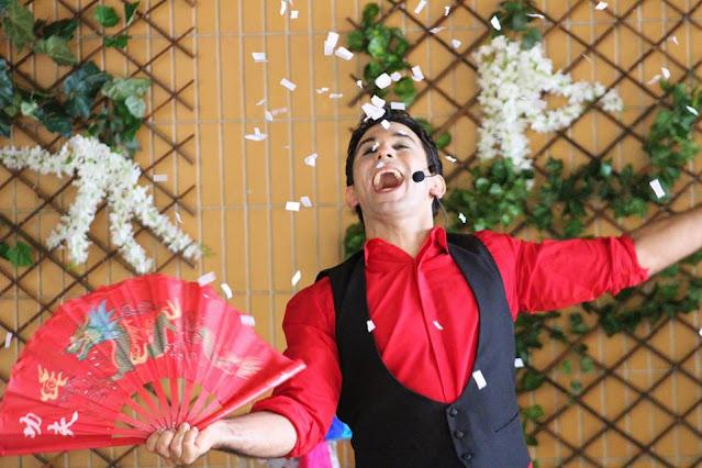 Show de mágica de Humor e Circo para eventos da semana das crianças em São Paulo.