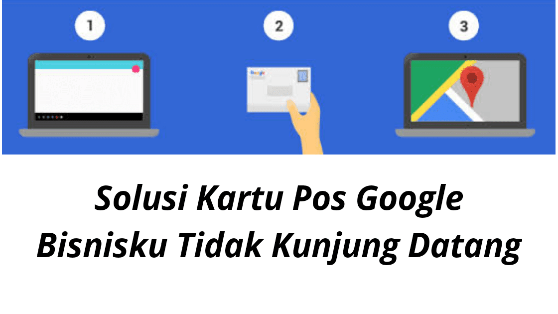 Solusi Kartu Pos Google bisnisku Tidak Kunjung Datang