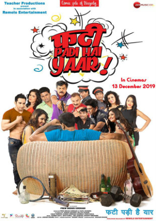 Phati Padi Hai Yaar 2019 WEB-DL 300MB Hindi 480p