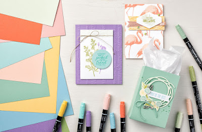 Stampin' Up! Subtles Color Collection Projects