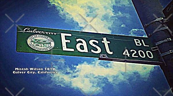 East Boulevard, Culver City, California by Mistah Wilson
