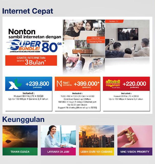 Pendaftaran Pelanggan Baru MNC Vision Indovision 2020