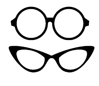 Free SVG Glasses Download - Photo Booth or hipster project!