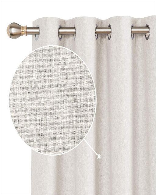 linen blackout curtains pinch pleat 63 inch