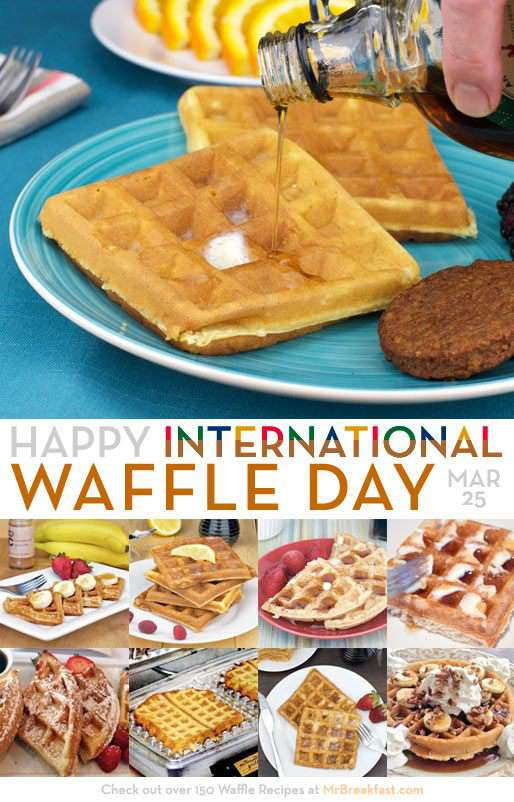 International Waffle Day Wishes Images download