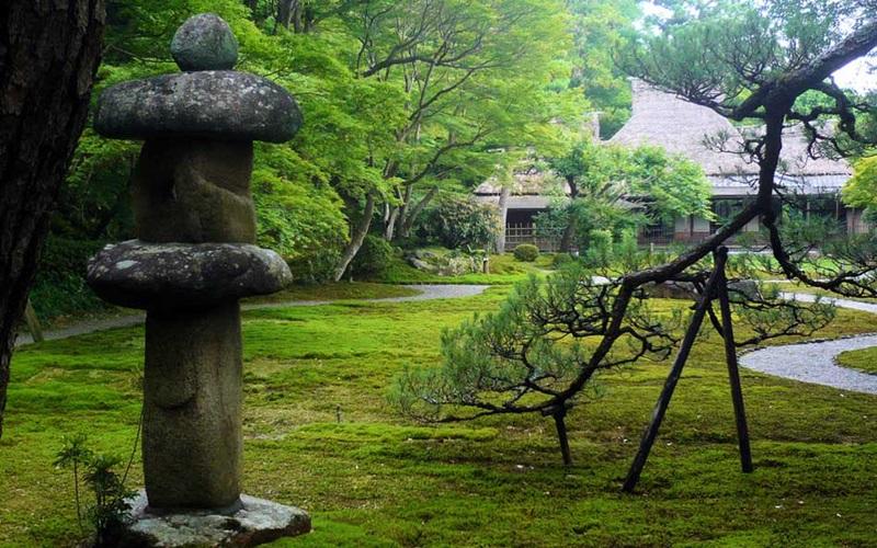 สวนโยชิไกเอน (Yoshikien Garden)