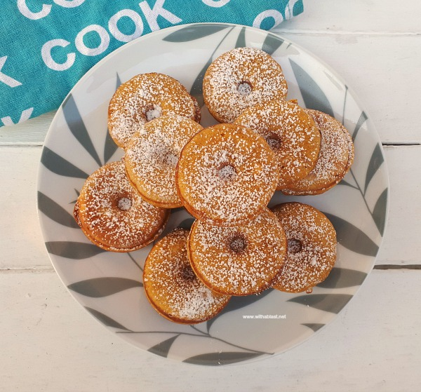 Easy Pumpkin Donuts are the perfect Fall sweet treats and unbelievably easy to make too (Recipe for Homemade Pumpkin Spice included).