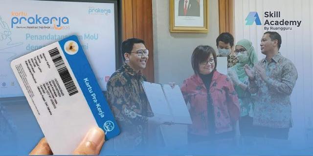 Ruang Guru Jadi Mitra Pemerintah untuk Program Kartu Prakerja, Jokowi Didesak Pecat Stafsus