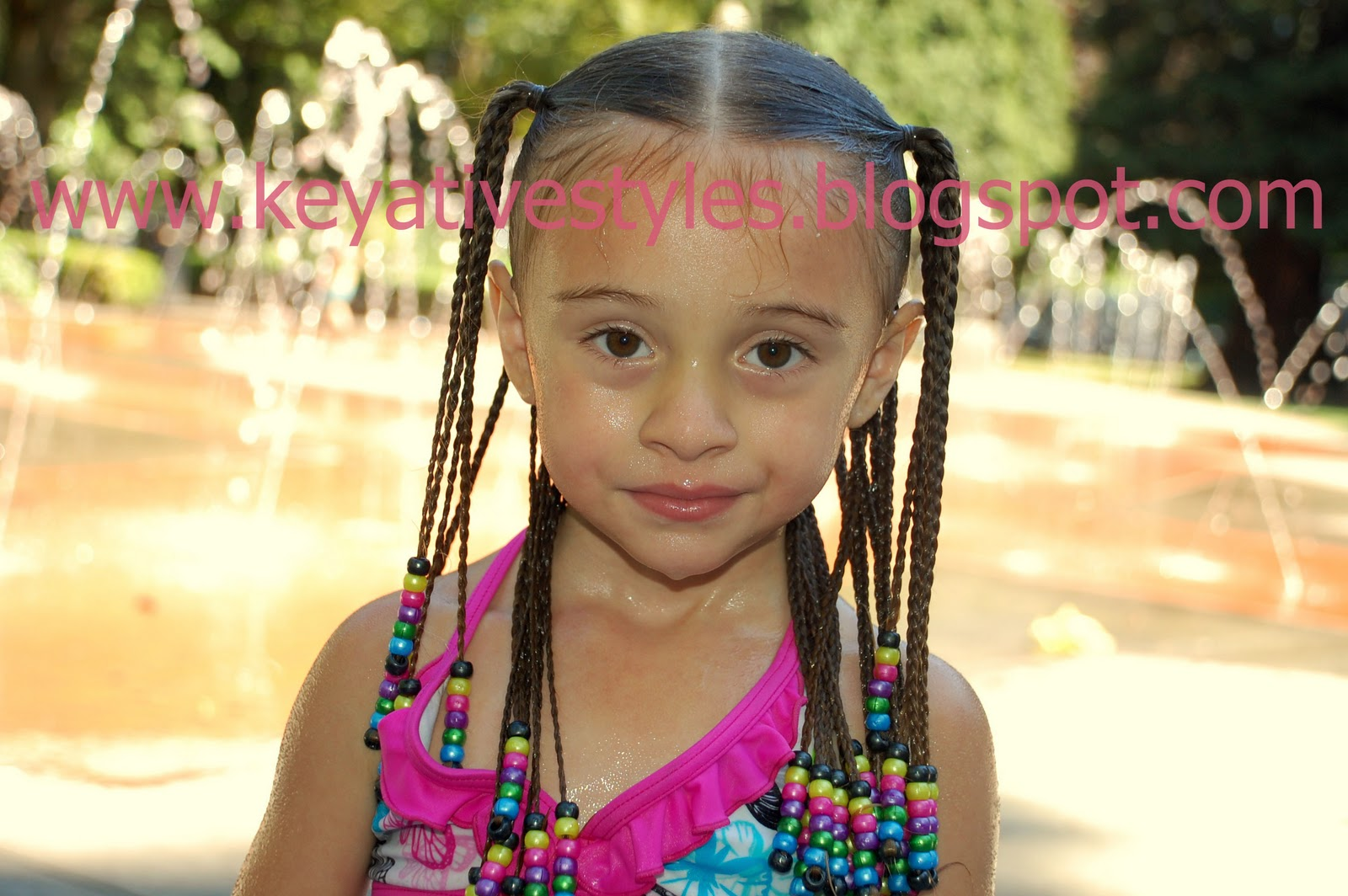 Hair Styles Braids With Beads: Hair Today: Box Braids With Floating Beads