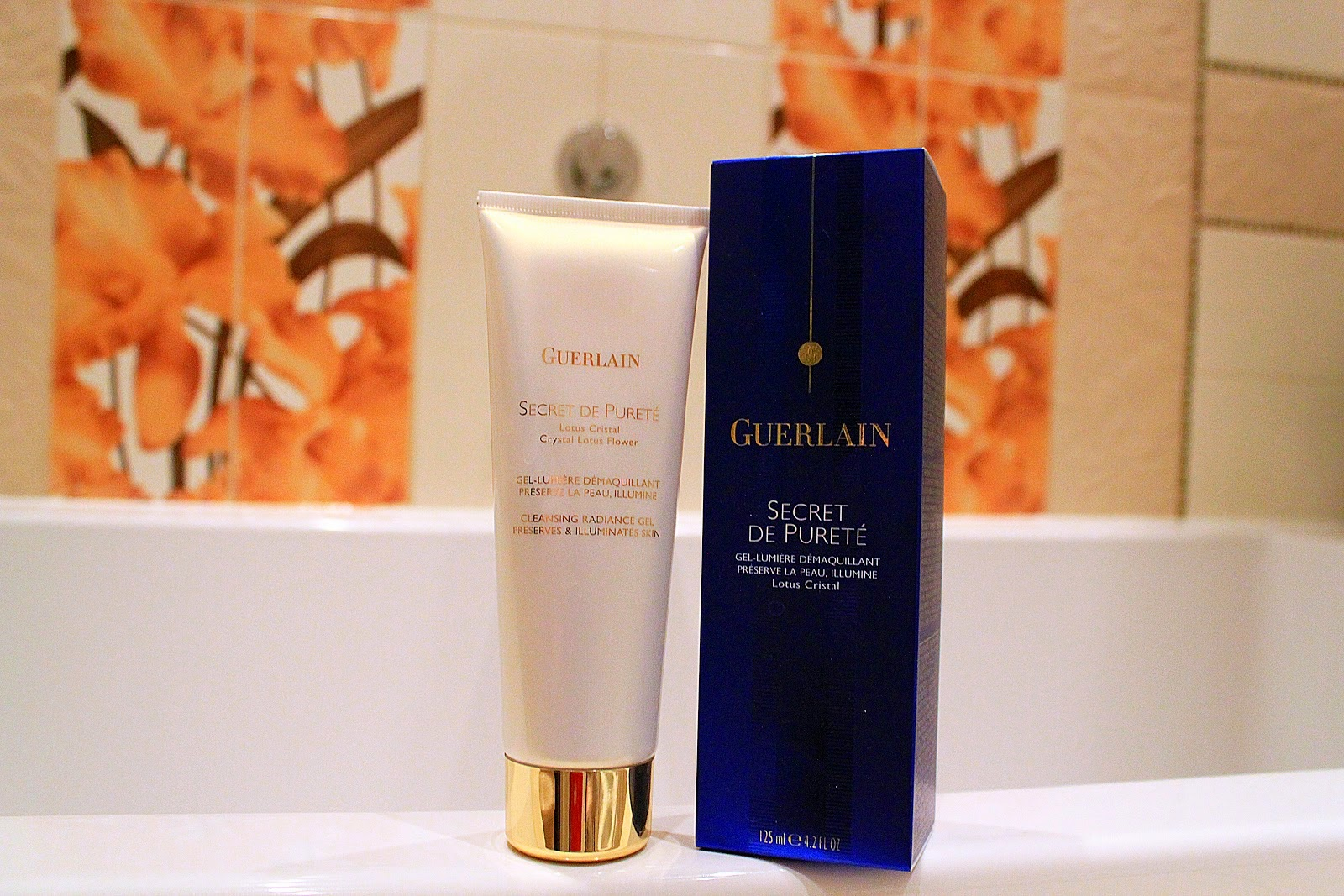 Guerlain Secret De Purete Cleansing Radiance Gel Preserves And
