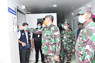 Laksamana Madya TNI Yudo Margono Sebut Rumah Sakit Khusus Covid 19 Di Pulau Galang Batam Resmi Di Fungsikan