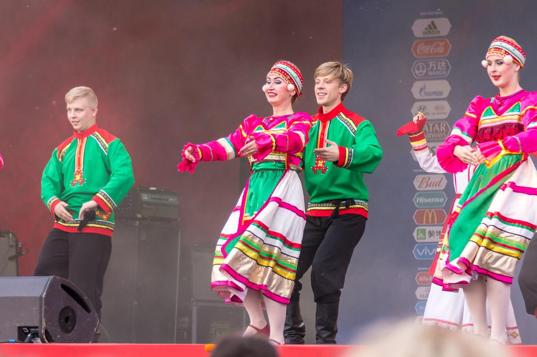 Мордовские танцы