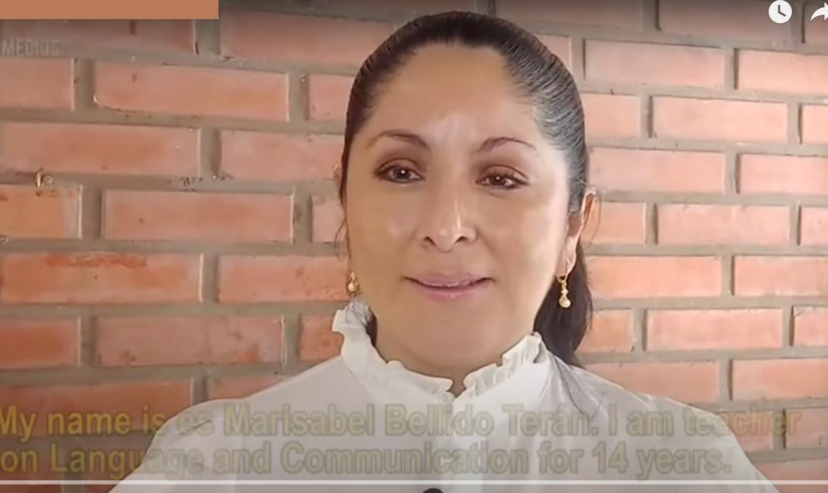 Bellido fue postulada por la Fundación Para el Periodismo por su compromiso con la educación / CAPTURA FPP