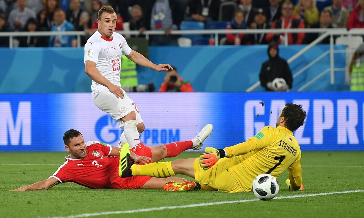 Uswizi Yaitandika Serbia 2-1 Dakika za Majeruhi