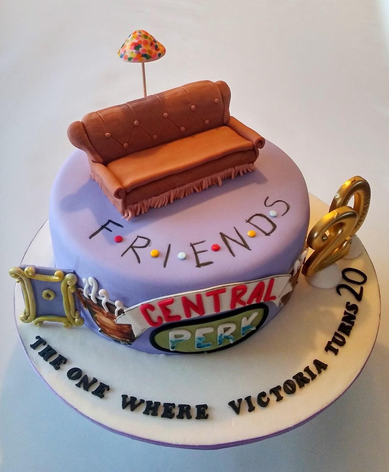 Cakesophia Friends Cake