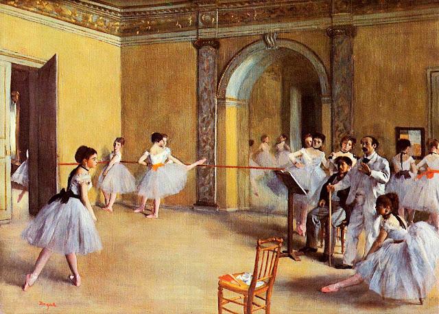 Эдгар Дега - Танцевальный класс в опере (1872)