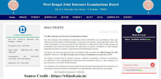 WB JELET Result Date 2020  | Rank Card | Banglarmukh Result 2020