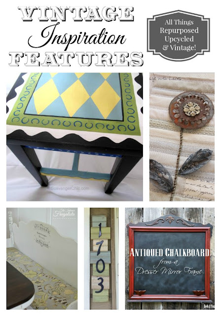 Vintage Inspiration Party #195 Features