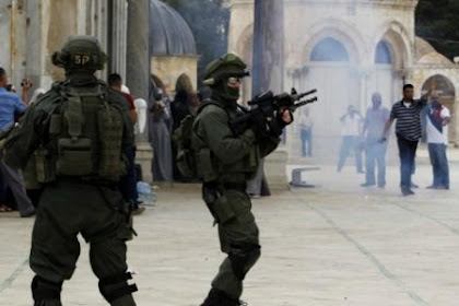 That MeuYahudi Akai Teuntra Israel, Ji Timbak Ureung Lam Seumijid Aqsha