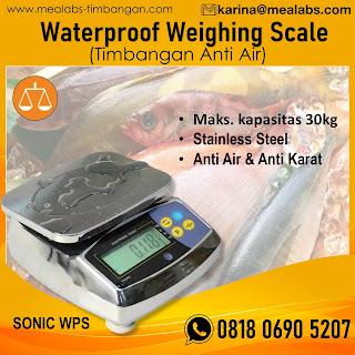 Waterproof weighing scale sonic WPS