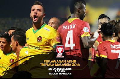 Harga Tiket Final Piala Malaysia 2016 Kedah Vs Selangor