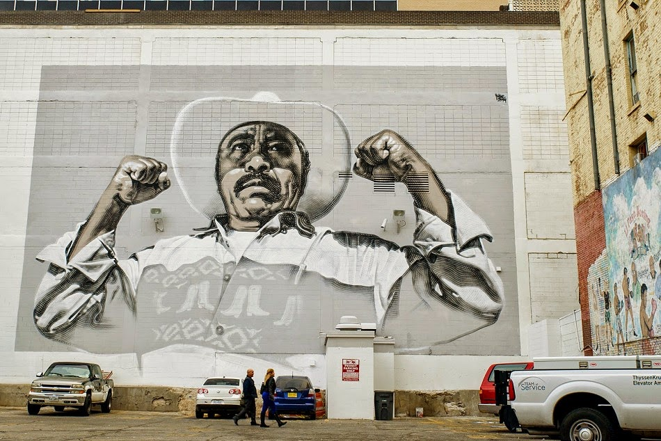 El Mac Reveals Animo Sin Fronteras A New Mural In El Paso Mexico