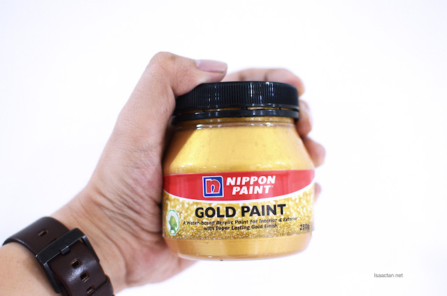 Have Fun Painting with the Dazzling Nippon Paint Gold Paint!