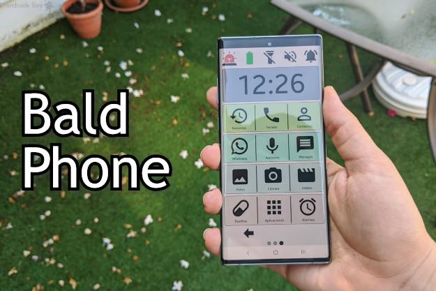 BaldPhone - Ένας χρήσιμος Android launcher για άτομα μεγαλύτερης ηλικίας