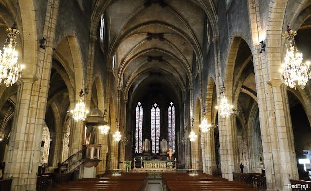 Nef de l'église Saint Bonaventure à Lyon