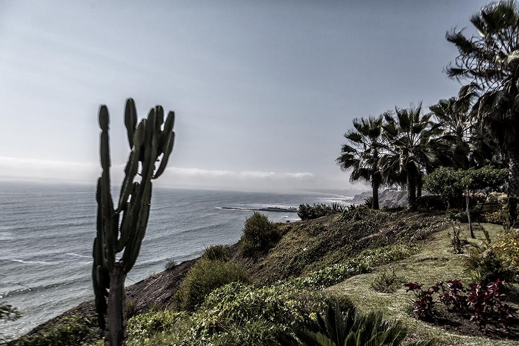 Vista hacia el mar desde Miraflores
