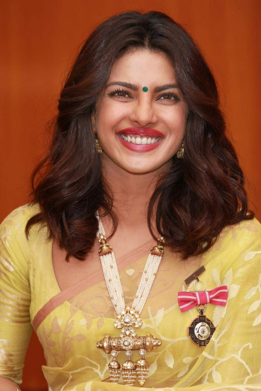Priyanka Chopra Hot Big Teets Mouth Open Photos