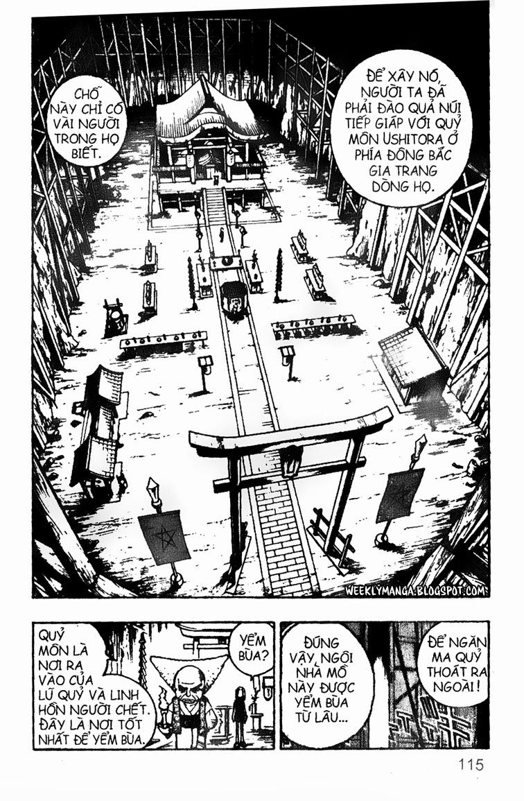 Shaman King [Vua pháp thuật] chap 89 trang 19