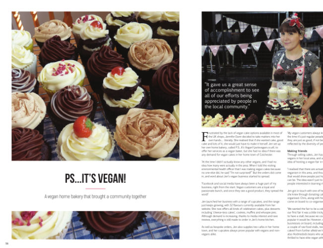 Vegan Life Magazine review Issue 1 and 2 secondhandsusie.blogspot.co.uk