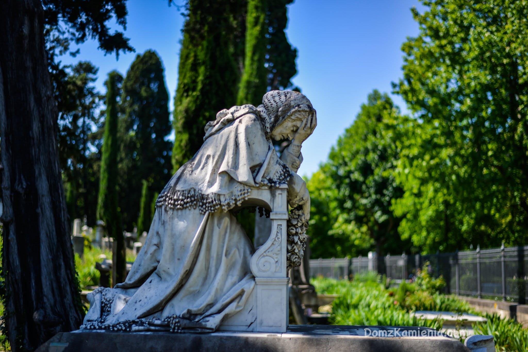Cmentarz Anglików, Dom z Kamienia blog