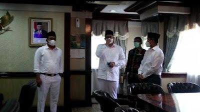 Usai Dilantik Jadi Wali Kota Medan, Bobby Nasution Sambangi Ruangannya di Balai Kota
