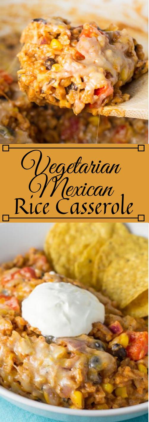 VEGETARIAN MEXICAN CASSEROLE #vegetarian #casserole #vegan #recipes #mushroom