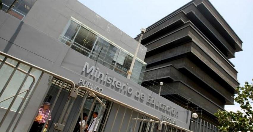 MINEDU: En setiembre se iniciará concurso público de nombramiento de auxiliares de Educación 2021