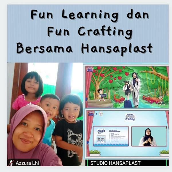 Fun Learning dan Fun Crafting Bersama Hansaplast Tentang Cara Tepat Menangani Luka