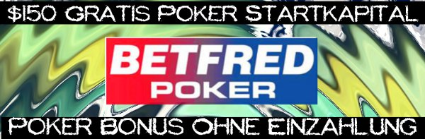 Poker Bonus Ohne Einzahlung 2021