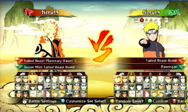 Naruto Senki MOD Revolutions Full Characters Apk For Android